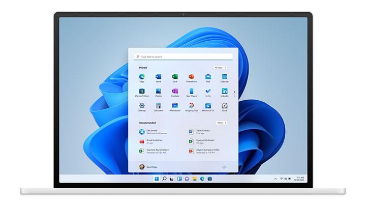 Nouveau design de Windows 11